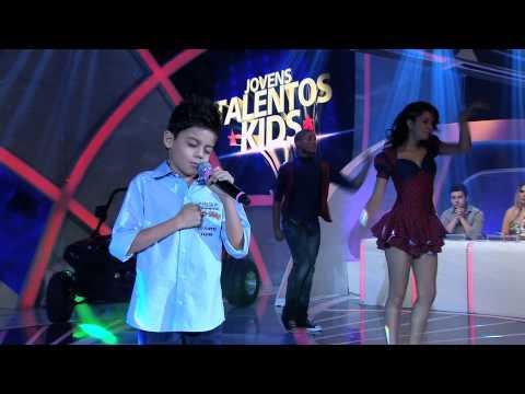 Programa Raul Gil - Alexandre Nunes (Enamorado) - Jovens Talentos Kids 2013
