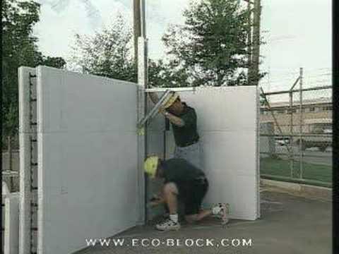 Eco-Block - ściany i fundamenty