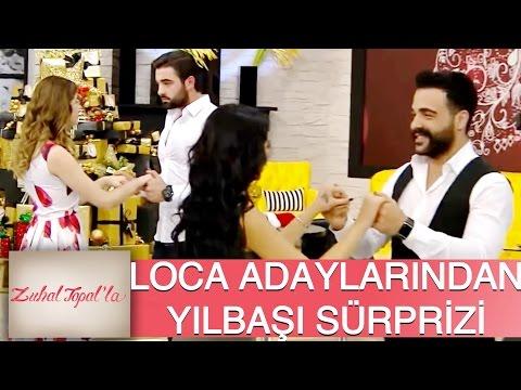 Zuhal Topal'la 93. Bölüm (HD) | Loca Adaylarına Büyük Yılbaşı Sürprizi