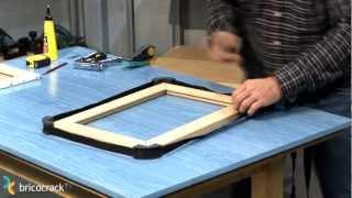 Carpintería: Como enmarcar un lienzo