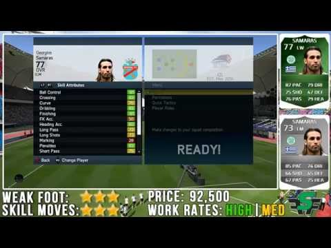 FIFA 14 iMOTM Samaras Review (77) w/ In Game Stats & Gameplay