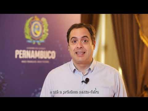 Paulo Câmara anuncia a abertura de mais 50 leitos de UTI na próxima semana