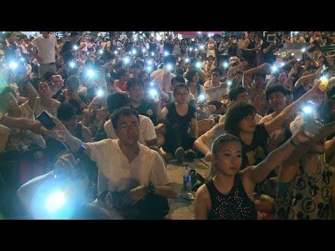 Hundreds arrested after huge Hong Kong pro-democracy march