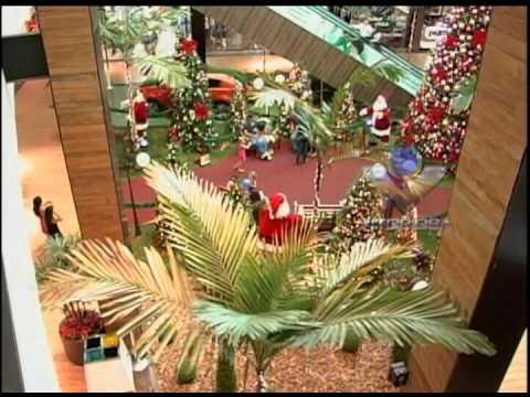 Shoppings de Uberlândia apostam na decoração de Natal para atrair clientes
