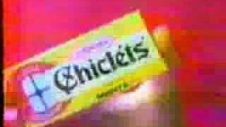Comercial Chiclets Adams (1986)