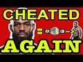 JON JONES TESTED POSITIVE FOR STEROIDS AGAIN STRIPPED OF UFC 214 TITLE