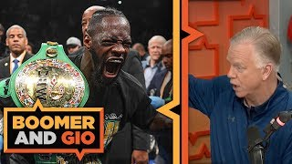Deontay Wilder DESTROYS Dominic Breazeale with first round KO | Boomer & Gio