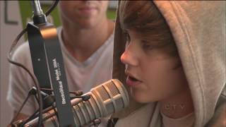 W5: Rare interview before Justin Bieber was a star