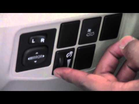 2012 Toyota Prius Dash Dimmer Switch How To by Toyota City ...
