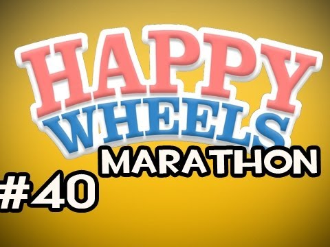 Happy Wheels MARATHON w/Nova Ep.40 - Falling With Style