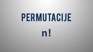Kaj so permutacije?