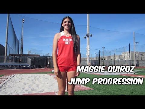 Maggie Quiroz Jump Progression