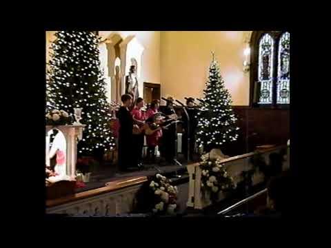 Holy Angels Christmas Eve Mass 12-24-01