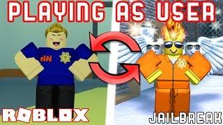 TROLLING as FAKE MyUsernamesThis! (Fake YouTuber Trolling) - Roblox Jailbreak