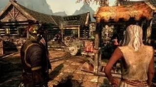 Elder Scrolls 5 Skyrim Trailer (2011)
