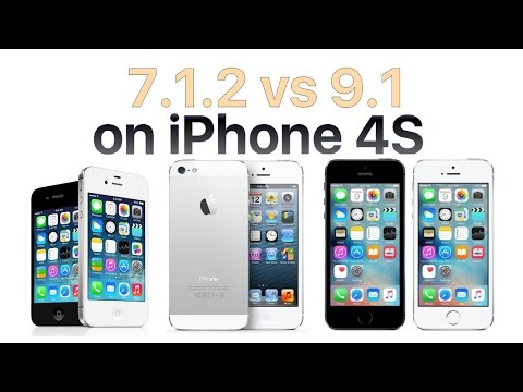 iPhone 4S iOS 9.1 vs iOS 7.1.2