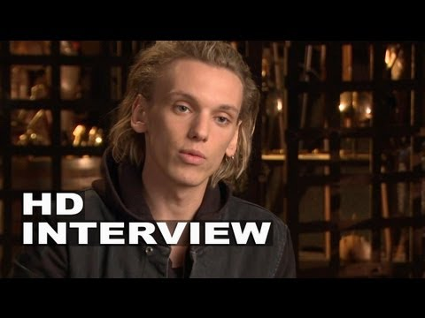 "The Mortal Instruments: City of Bones: Jamie Campbell Bower ""Jace"" On Set Interview"