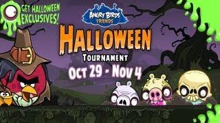 Nuevos Niveles De Angry Birds Friends Halloween Tournament
