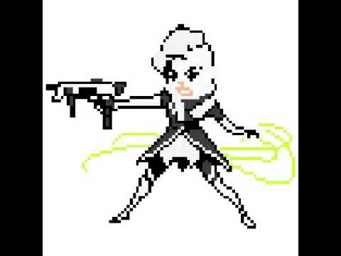 How to make sombra from overwatch pixelated