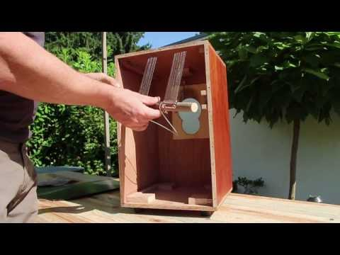 HOMEMADE CAJON - SNARE ASSEMBLY