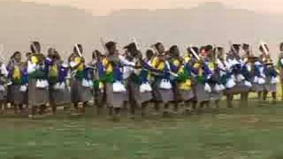 Video-arabic-The Dance Of Swaziland's Fair Maidens