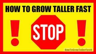 How To Grow Taller Fast And Naturally? 4 Inches In 8 Weeks