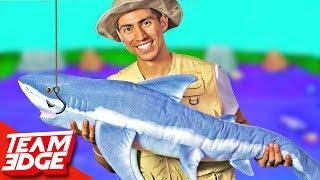 GIANT Gone Fishing Challenge!!