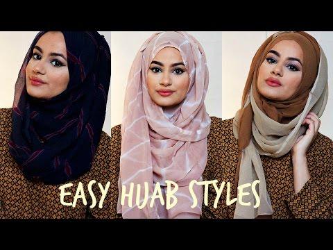Hijab Tutorial For Easy Hijab Styles! | hijabhills