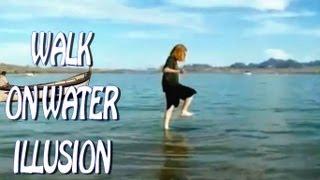 Walk On Water Lake Like Criss Angel
