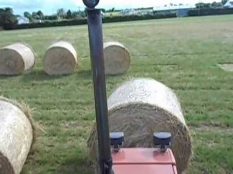 fiat 100-90 hauling hay 2013