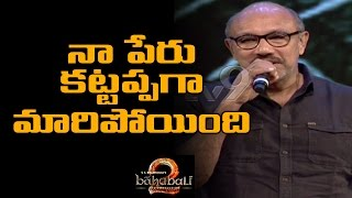 Satyaraj funny take on Why Kattappa killed Baahubali !..