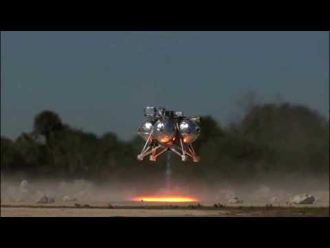 Morpheus Lander Descends Into Hazard Zone | NASA Space Science Hd