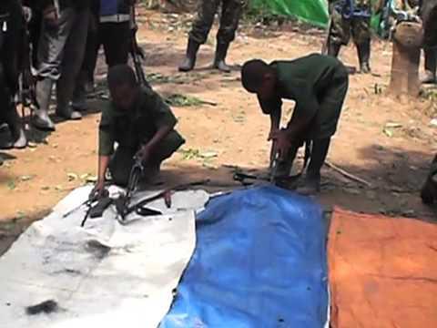 ADF rebel child soldiers