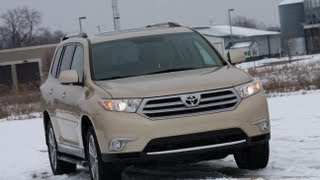 2012 Toyota Highlander Review by Automotive Trends videos