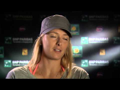 Indian Wells 2014 Saturday Interview Sharapova