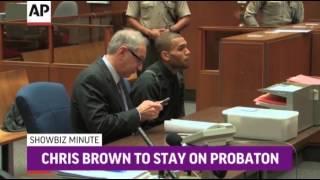 ShowBiz Minute: NBC Benefit, Brown, CMAs