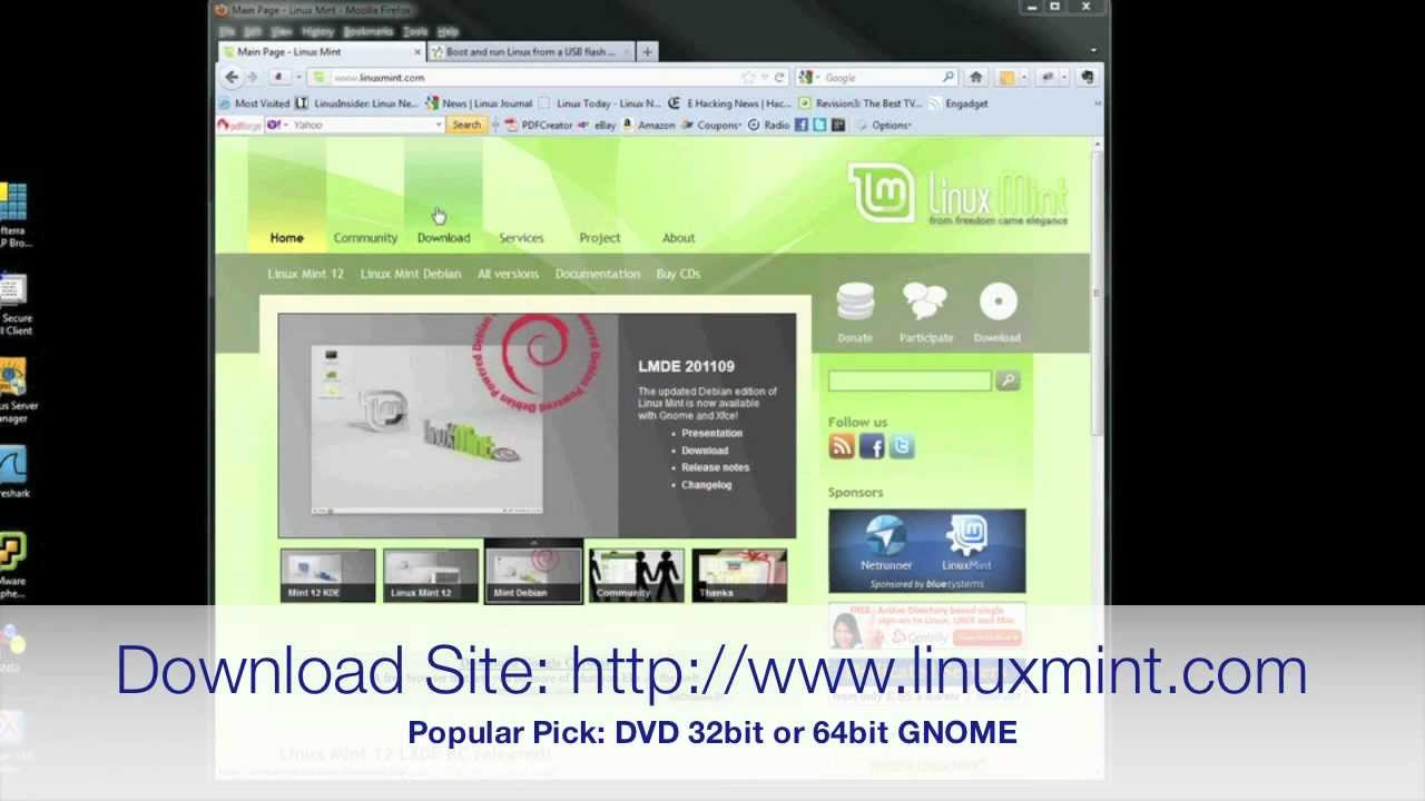 how to make a bootable usb mint