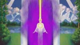 Llama Violeta Liberadora
