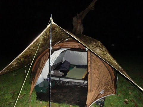 TARP/TENT Windy Weekend Forest Of Dean,