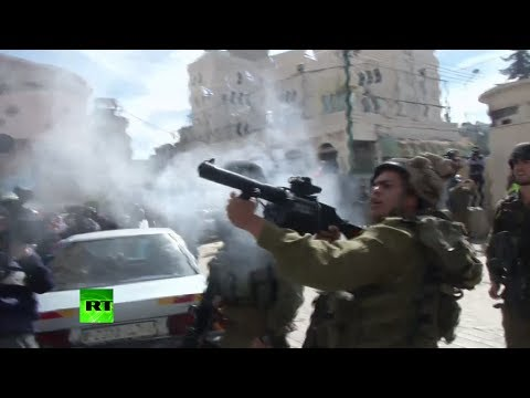 IDF fire rubber bullets, stun grenades at Palestinian protesters in West Bank