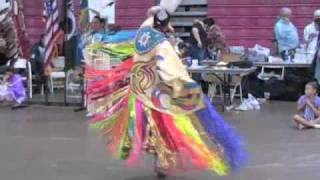 Fancy Shawl Dancers At Oregon Pow Wow