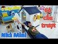 Ngôi Nhà Mini 5 Triệu Có Cầu Trượt Cực Khủng - Mini Toy House
