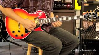 Gibson Les Paul Custom Cherry Sunburst Demo Sam Bell