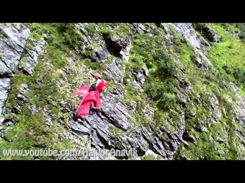 A day at the office - Wingsuit proximity by Halvor Angvik