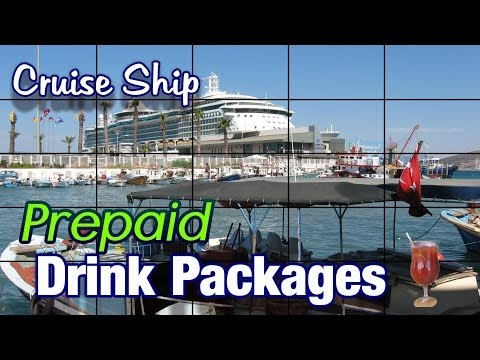 All You Can Drink Package Cruise Ship Package