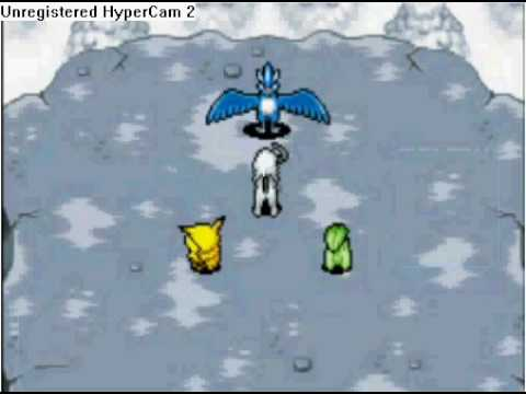 Pokemon Mystery Dungeon - Battling Articuno