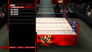 WWE 2K14 How To Create A Custom Arena