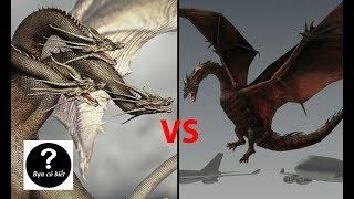 King Ghidorah vs Smaug, con nào sẽ thắng #34  || Bạn Có Biết?