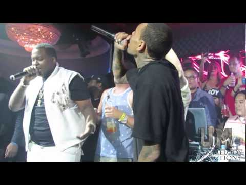 Chris Brown Sean Kingston - Beat it Live - Urban Melody TV