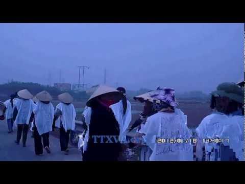 Công An đánh chết người, biểu tình ở Bắc Giang